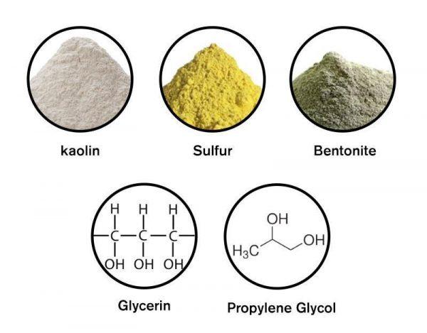 DBH Clear Complex Sulfer Masque Ingredients